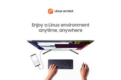 Instal Ubuntu di HP Androi Samsung dengan Linux on Desk