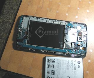 cara memasang circuit board, rangkaian pcb LG G3 - pramud blog