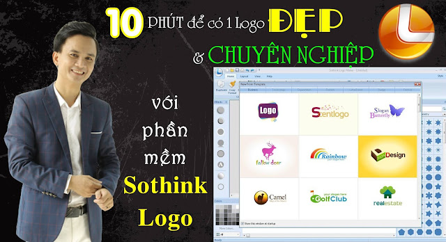 Sothink logo maker - Hướng dẫn thiết kế logo đẹp, chuyên nghiệp và hoàn toàn miễn phí
