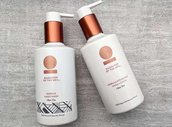Daughter of the soil hand wash and hand lotion