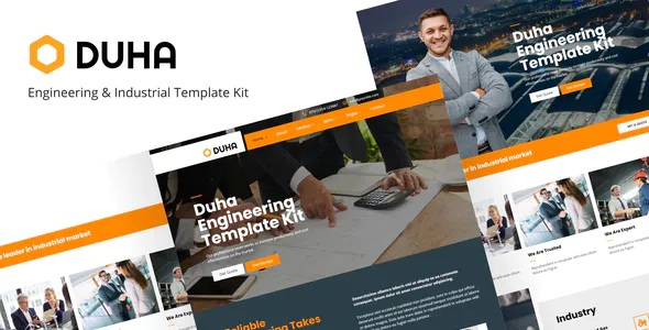 Engineering & Industrial Template