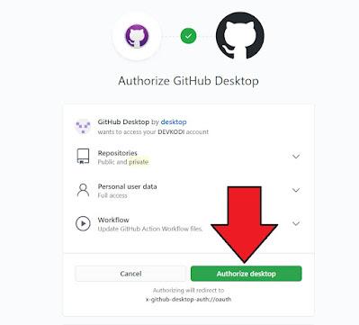 step 3 - cara mengaitkan akun github ke aplikasi github dekstop