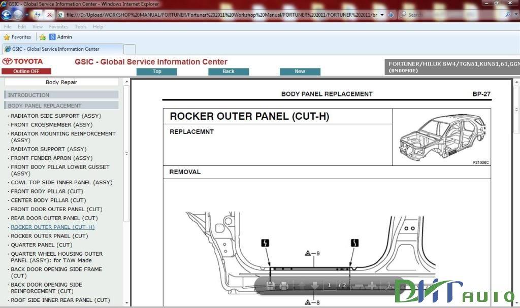 H U1ed7 Tr U1ee3 Ki U1ebfn Th U1ee9c  U00f4 T U00f4   Repair Manual  Toyota Fortuner 2014 Repair Manual Free Download