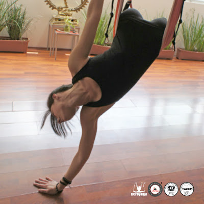 yoga fly flying body