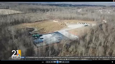 woodlands being cleared for site of five fracking waste injection wells, Ohio