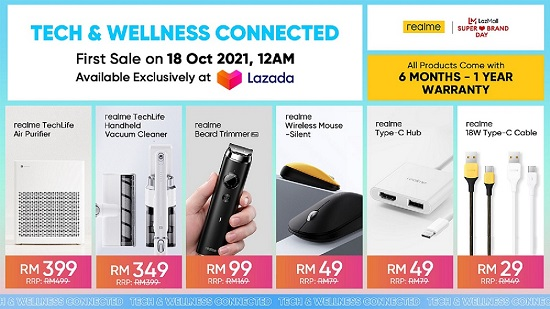 realme TechLife expands its tech ecosystem with the launch of smart home appliances
