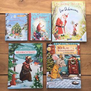 Weihnachtsbilderbücher Kindergarten und Grundschule