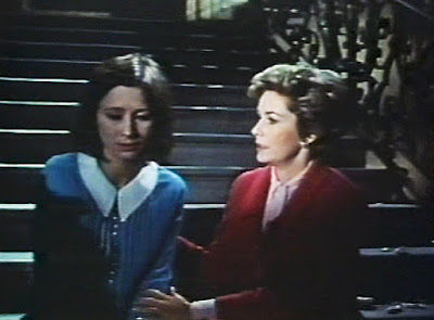 """Gay Hamilton and Vera Miles in """"Matakitas is Coming,"""" Journey to the Unknown, 1968"""