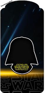 Marcapaginas para Imprimir Gratis de Star Wars.
