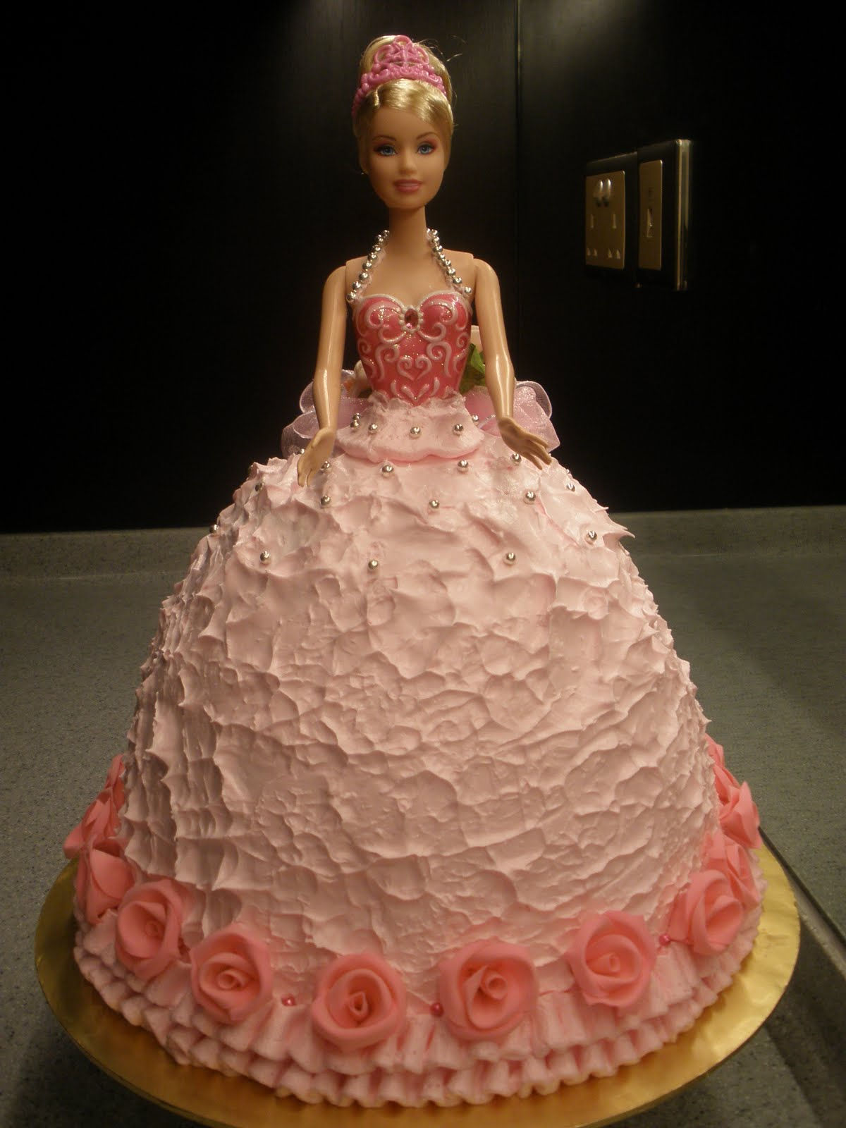 Birthday Cake Pink Barbie Birthday Cakes