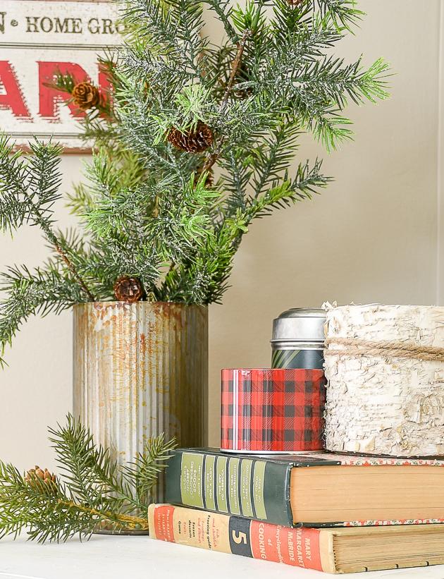 Christmas home tour, christmas, modern farmhouse, holiday home , Classic christmas, living room