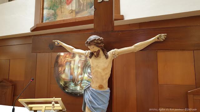 christ, église du bon pasteur, jéricho ©défrade