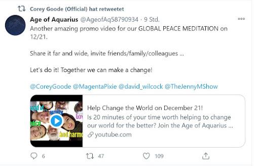 Обновления активации Age of Aquarius и о новом интервью с Коброй (15, 20 декабря 2020 г.) Goode