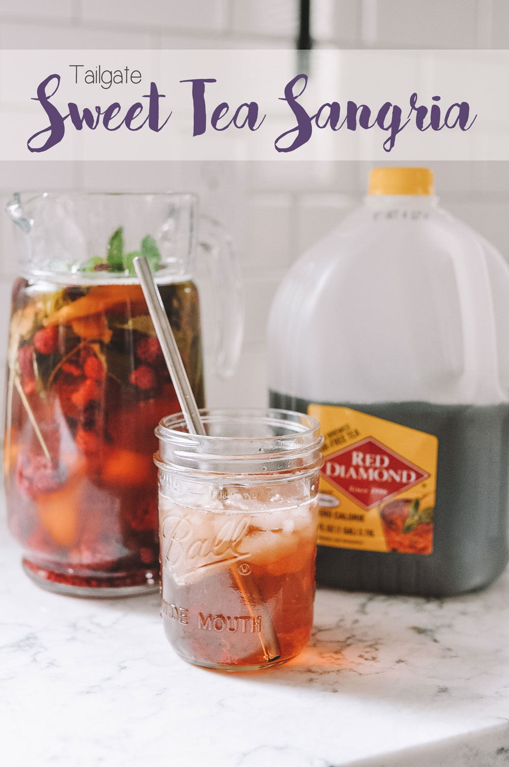 tailgate sweet tea sangria by amanda's ok