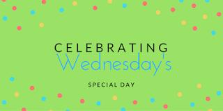 celebrating wednesday's logo