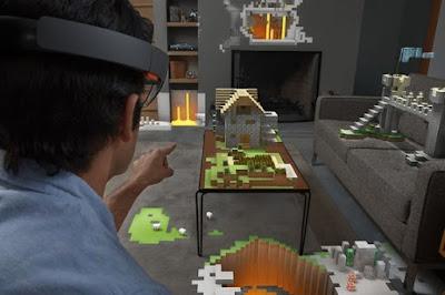 Memperkenalkan Microsoft Hololens: Menggabungkan Dunia Virtual Dan Dunia Nyata!