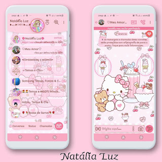 HK Fruit Parlor Theme For YOWhatsApp & Fouad WhatsApp By Natalia luz