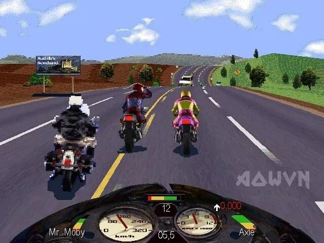 road rash AowVN%2B%25282%2529 - [ PS1 ] Road Rash | Android & PC - Tuổi thơ dữ dội
