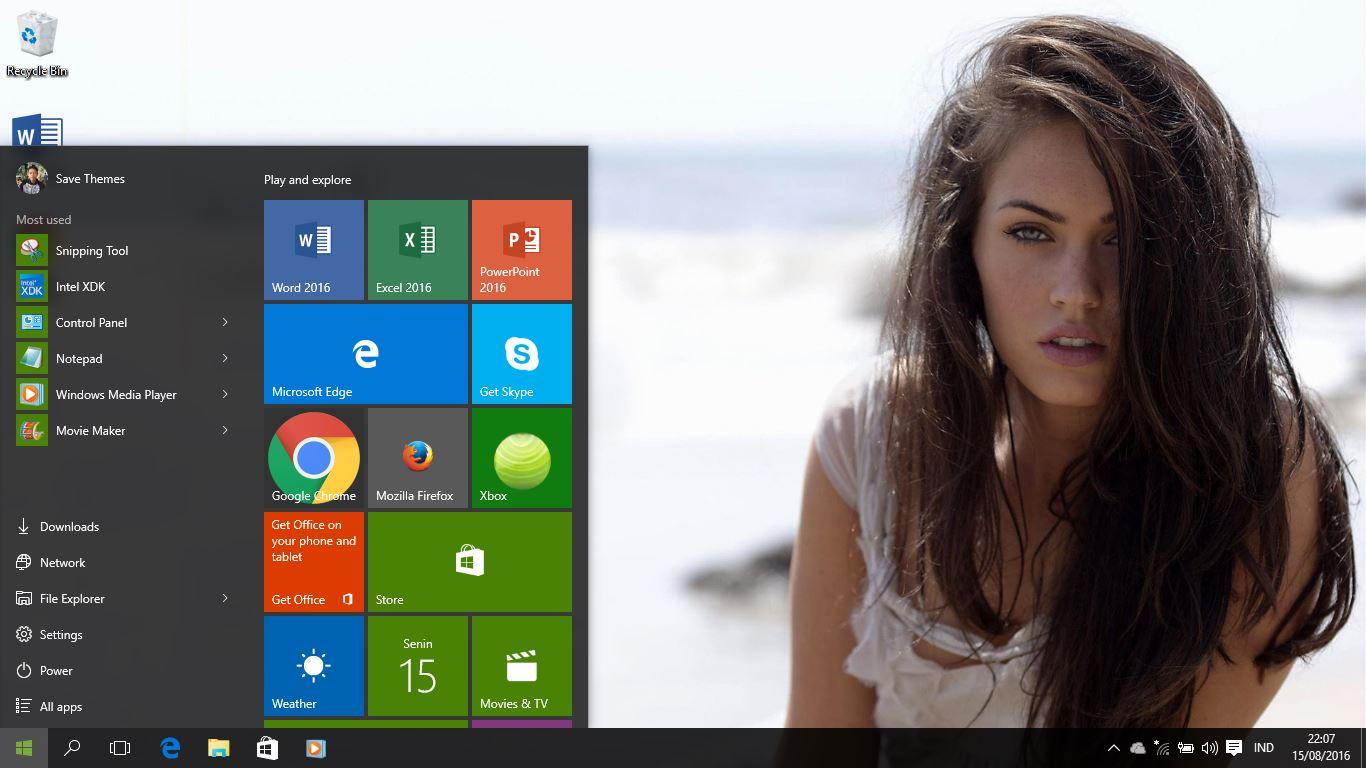 Google themes fox - Megan Fox Theme For Windows 7 8 8 1 And 10