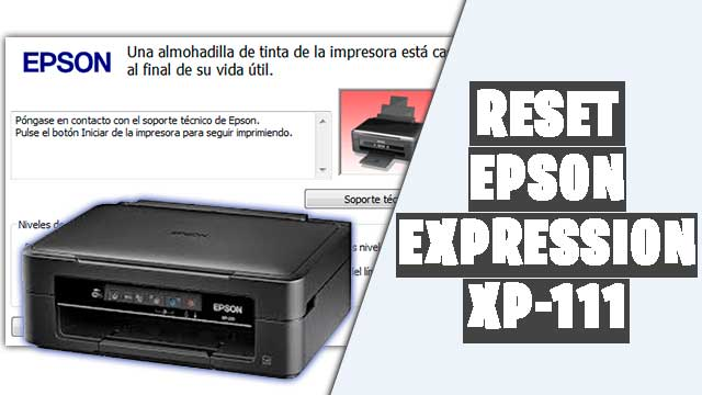 resetear impresora EPSON Expression XP-111