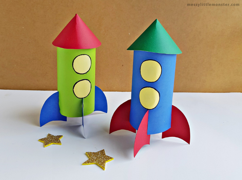 rocket craft for kids to make