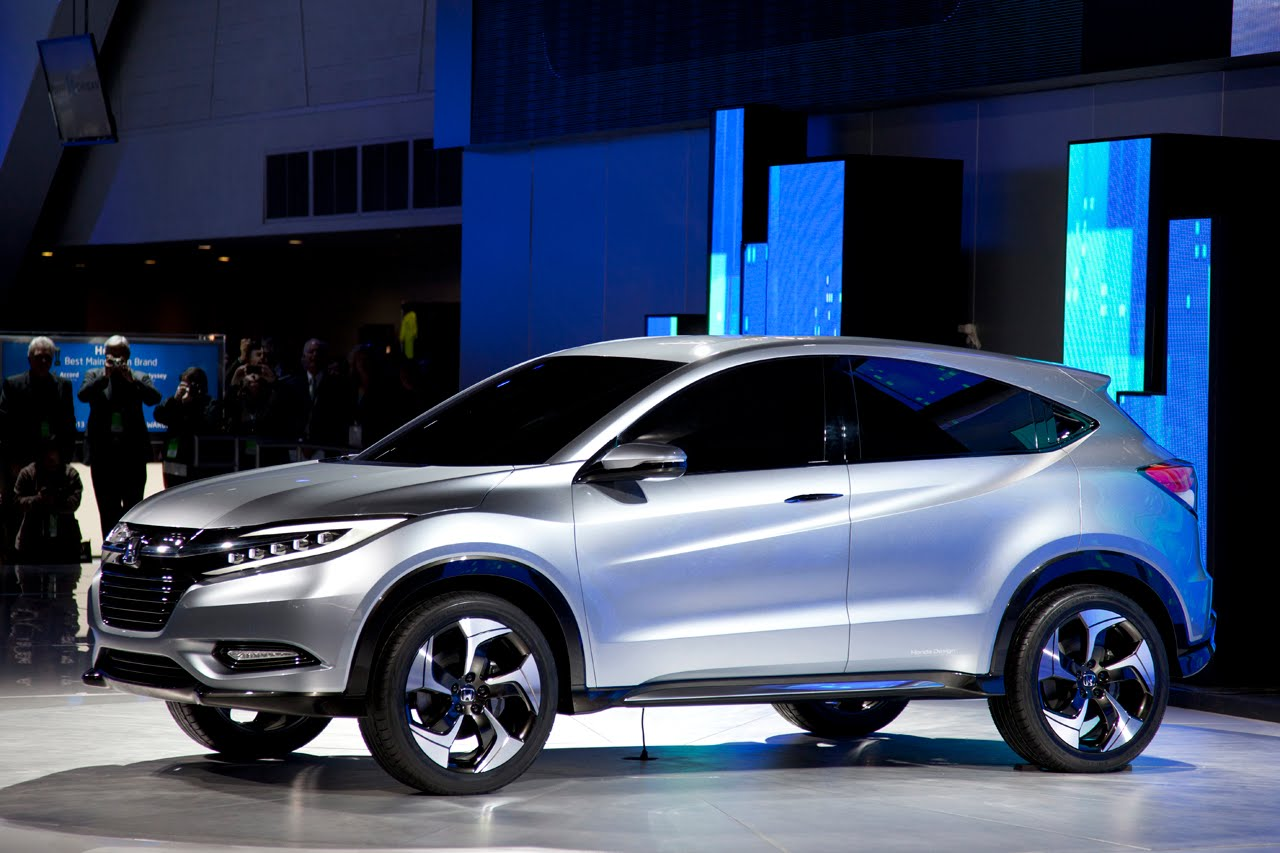 Detroit Auto Show Honda Urban Suv Concept【video】