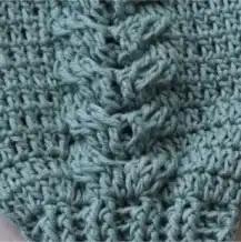 Trenza Doble a Crochet
