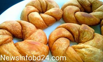 Flower donut recipe by abu sayem 2021
