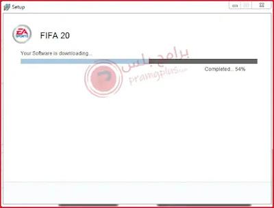 انتظار تثبيت لعبة FIFA 20