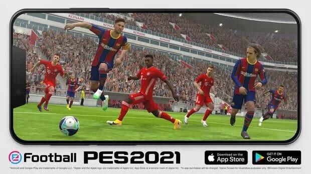 لعبة eFootball PES 2021 متاحة الآن لنظامي التشغيل ايفون و اندرويد