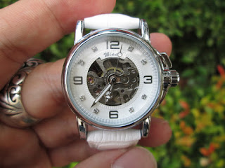 Jam Tangan Automatic Mechanical Winner GMT972-3 Luxury Ladies Watch