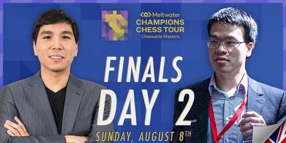 Lê Quang Liêm đoạt á quân Chessable Masters