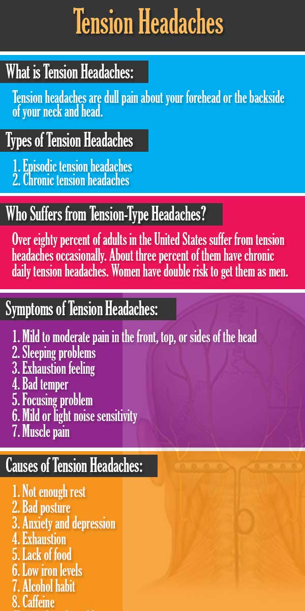 How to get rid of Tension Headaches