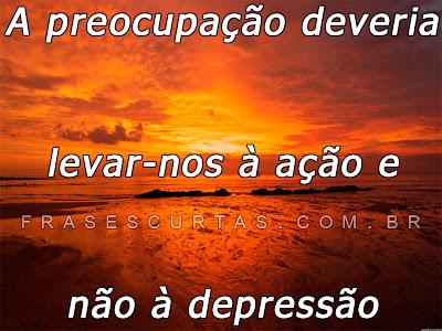 Frases sobre Depressão - Superar os Pensamentos Negativos