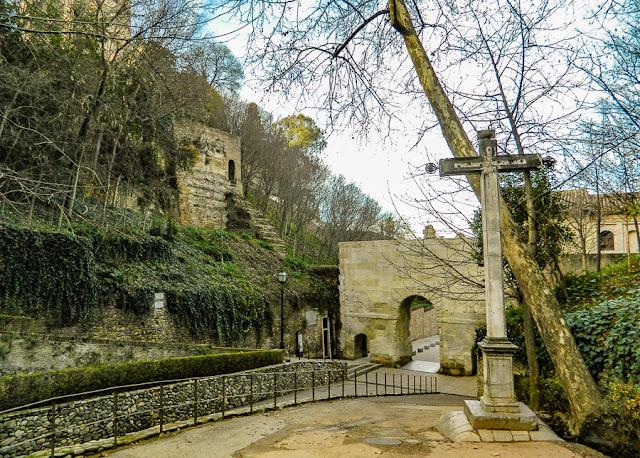Cuesta del Rey Chico, acesso à Alhambra de Granada