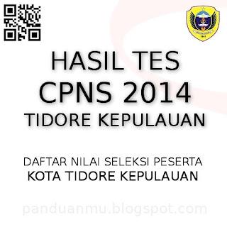 hasil tes CPNS Tidore Kepulauan