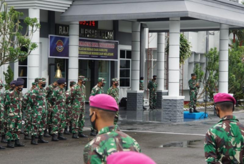 Aspers Kasal Beri Pengarahan Prajurit dan PNS TNI AL se-Pulau Bintan