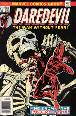 Daredevil #130, skeleton voodoo