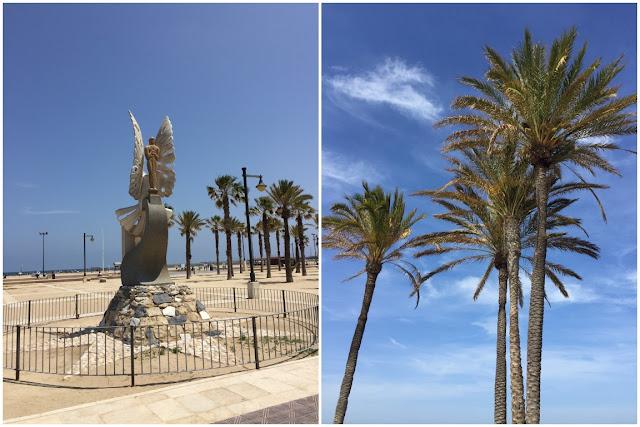 Stadtstrand Playa de la Malvarossa Valencia Citytrip