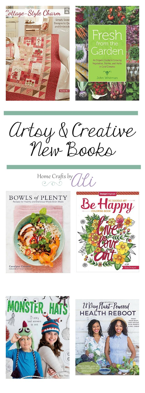 New Creative and Artsy Books recently published