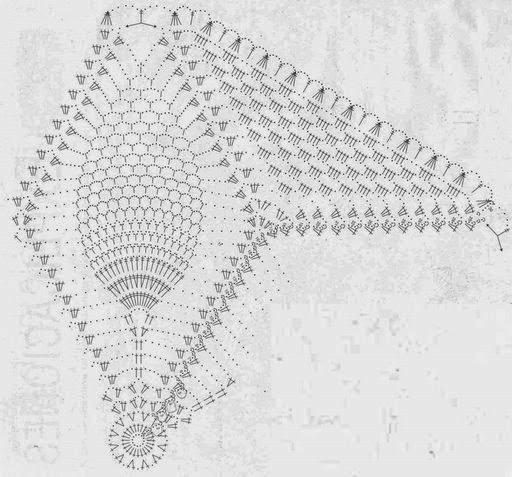 Kira crochet: Scheme no. 290