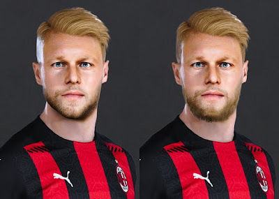 PES 2021 Faces Simon Kjaer