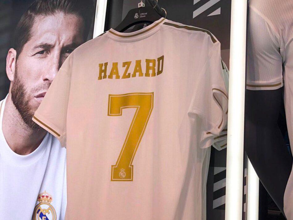 Hatimae Real Madrid Imeamua Kumpa Hazard Jezi ya Ronaldo