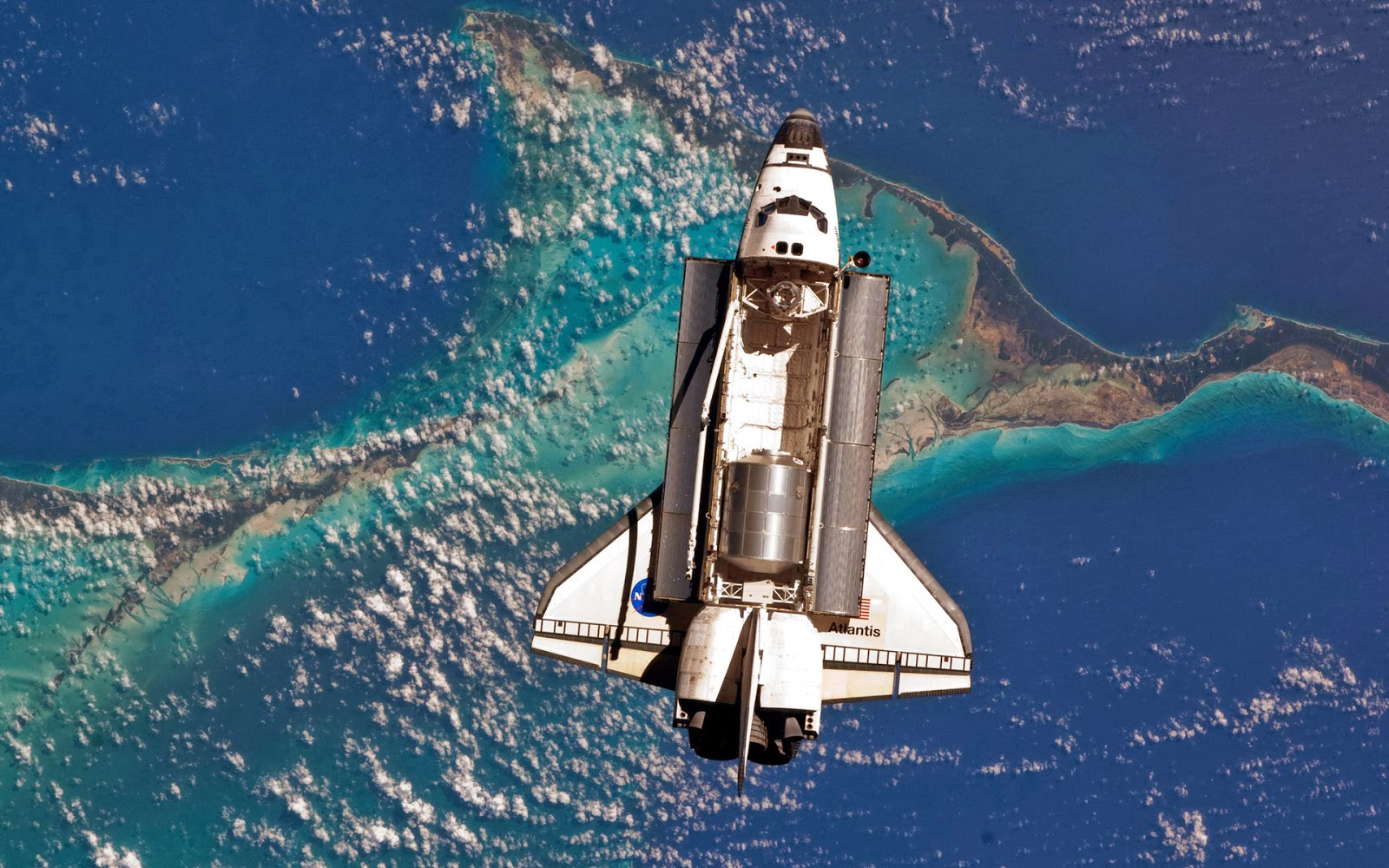 space shuttle space background - photo #40