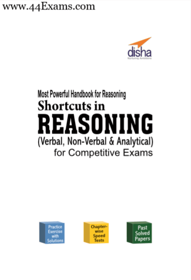 Shortcuts-in-Reasoning-by-Disha-Publication-For-All-Competitive-Exam-PDF-Book