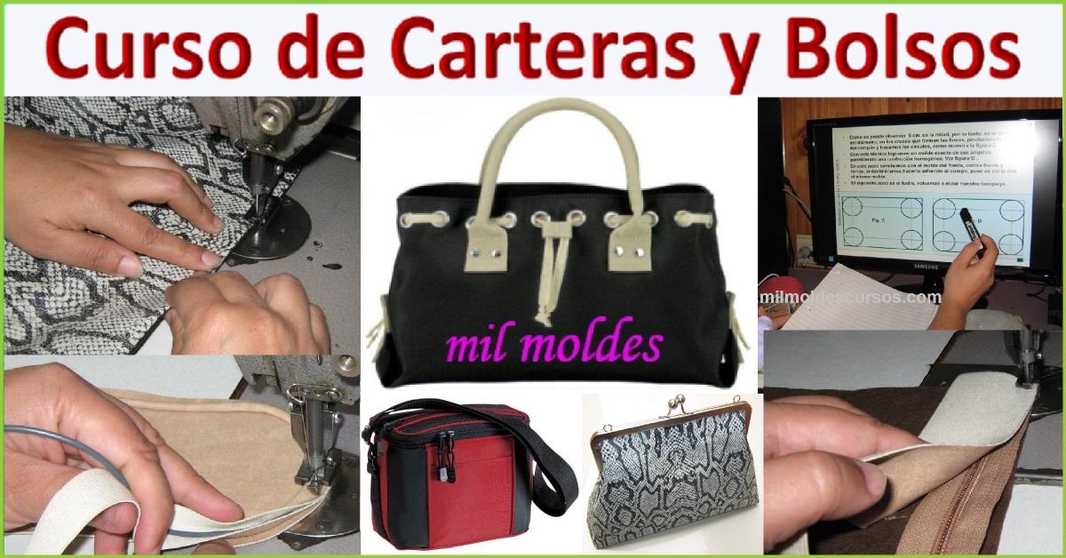 CURSO DE CAPACITACIÓN EN DISEÑO, MOLDES Y CONFECCIÓN DE CARTERAS Y BOLSOS