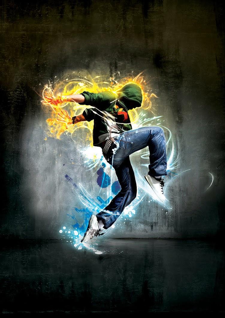 Dancer PRINT by ElenaSham