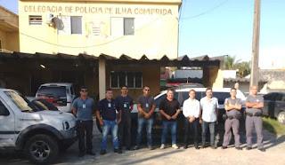 Ação conjunta da fiscalização municipal da Ilha e Polícias Civil e Militar vistoriou estabelecimentos que comercializam usados