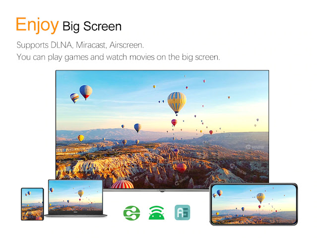 VONTAR X3 4GB 128GB 8K TV BOX Android 9 Smart Android TVBOX 9.0 Amlogic S905X3 Wifi 1080P BT 4K Set Top Box 4GB 64GB 32GB