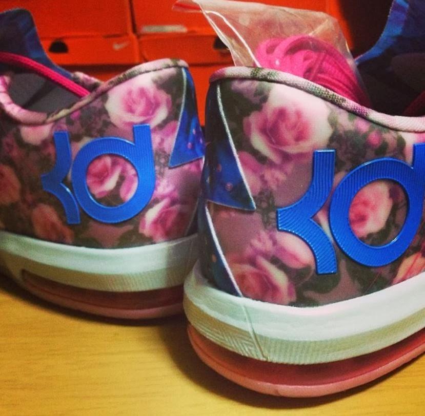 THE SNEAKER ADDICT: Nike KD 6 VI Aunt Pearl Sneaker